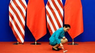 Die fünf Knackpunkte zwischen den USA und China
