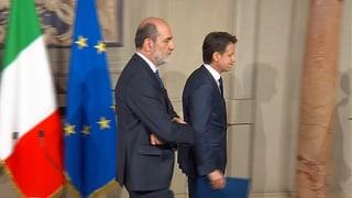 Conte gibt sein Mandat an Präsident Mattarella zurück