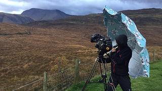 Bilder vom Dreh in Schottland