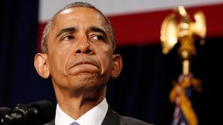 Obama: «Nie mehr solche Methoden»