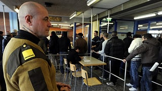 Sicherheitskosten im Asylwesen steigen