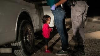 Weltpresse-Foto 2019: Weinendes Flüchtlingskind an der US-Grenze