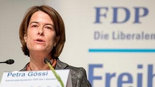 Petra Gössi will FDP-Präsidentin werden - bisher ohne Konkurrenz