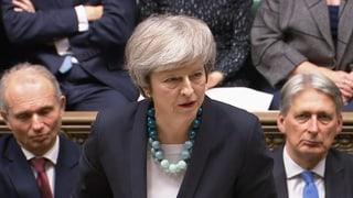 May verschiebt Brexit-Abstimmung im Parlament