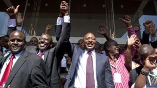 Kenyatta gewinnt Wahlen in Kenia