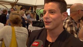 Lucas Fischer: «Mein Wunschdate? Nina Burri – und Roger Federer»
