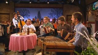 Video «Stubete-Tradition bei «Potzmusig»» abspielen