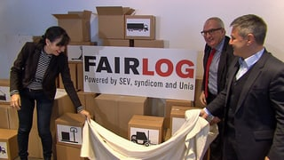 Fairlog will bessere Arbeitsbedingungen für 250'000 Angestellte
