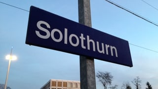 Stadt Solothurn auf Fusions-Kurs