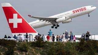 Swiss weiter im Höhenflug