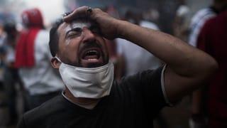 Tränen und geballte Fäuste: Kairo nach dem Sturm