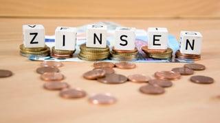Negativ-Zinsen bei Banken immer noch tabu