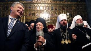 Orthodoxe Kirche in der Ukraine wird eigenständig