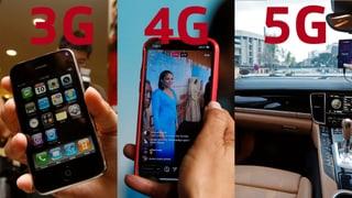 3G, 4G, 5G – was ist der Unterschied?