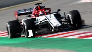 Räikkönen zeigt, was im Alfa steckt