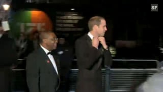 Prinz William: Schweigsamer Auftritt nach Freud und Leid