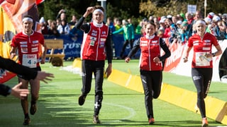 Schweizer siegen auch in Sprintstaffel