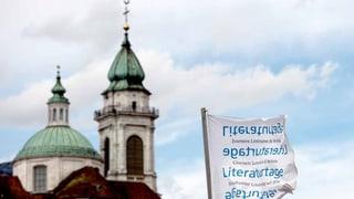 Keine konfliktfreie Zone: Solothurner Literaturtage sind eröffnet