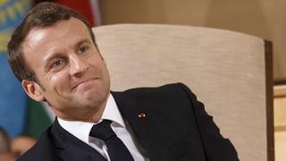 Macron scheint die Krise überstanden zu haben