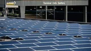 Solaranlagen: Wachstum auf bescheidenem Niveau
