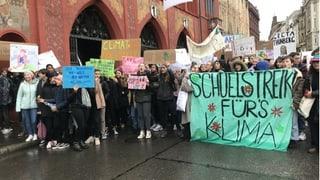 Für Klimastreik gibt es in Basel unentschuldigte Absenz