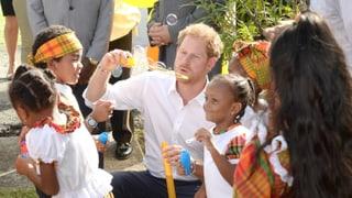 Harry der «Seifenblasen-Prinz»