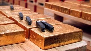 «Gold-Initiative» im Ständerat eine klare Sache: Nein