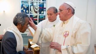 Papst tauft Vater eines «Sewol»-Opfers