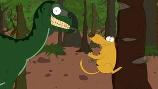 Video «Ralph und die Dinosaurier: Iguanodon (9/26)» abspielen