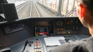 Der Zug rollt, die App passt auf
