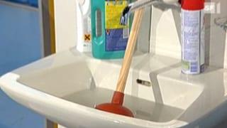 Abflussreiniger im Test: So wird das Rohr sauber