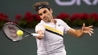 Erst der Regen stoppt Federer