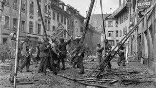 Als über Schaffhausen die Bomben fielen