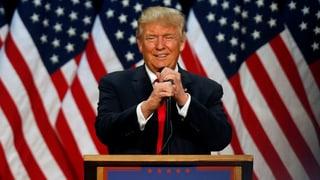 Trump zieht in Umfrage mit Clinton gleich