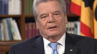 Joachim Gauck: «Die Schweiz ist ein kleines Europa»