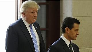 Mexikos Präsident sagt Treffen ab: USA drohen mit «Mauer-Steuer»
