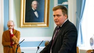 Islands Regierungschef tritt zurück