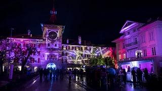 Video «Eröffnung des Murtener Licht-Festivals» abspielen