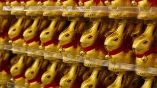 Wie viele Schoggi-Hasen werden an Ostern verputzt?