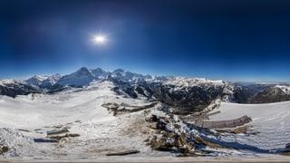 360-Grad-Panoramen von den höchsten Gipfeln der Schweiz