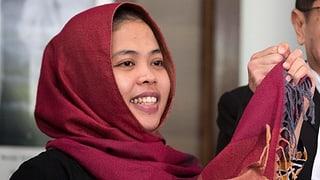 Indonesierin kommt frei