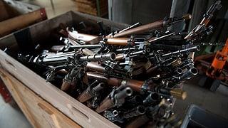 Fast 400 Waffen eingesammelt