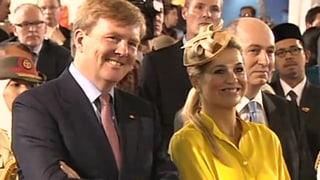 Das ist das neue Königspaar: Prinz Willem und Prinzessin Máxima