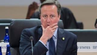 «Enthüllung kommt für Cameron zu einem blöden Zeitpunkt»