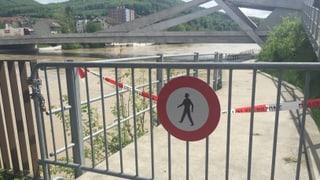 Hochwassersituation angespannt, aber im Griff