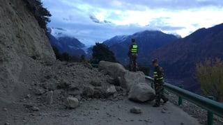 Terratrembel da 6,9 en il Tibet