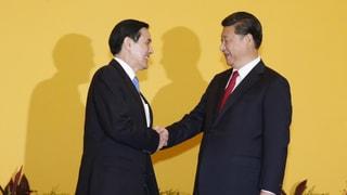 Taiwan und China geben sich die Hand