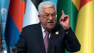 Critica per Trump dal president palestinais Abbas
