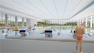 Auf dem Berner Neufeld soll eine neue Schwimmhalle entstehen