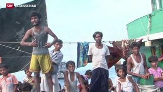 Bootsflüchtlinge wieder aufs Meer zurück geschickt
